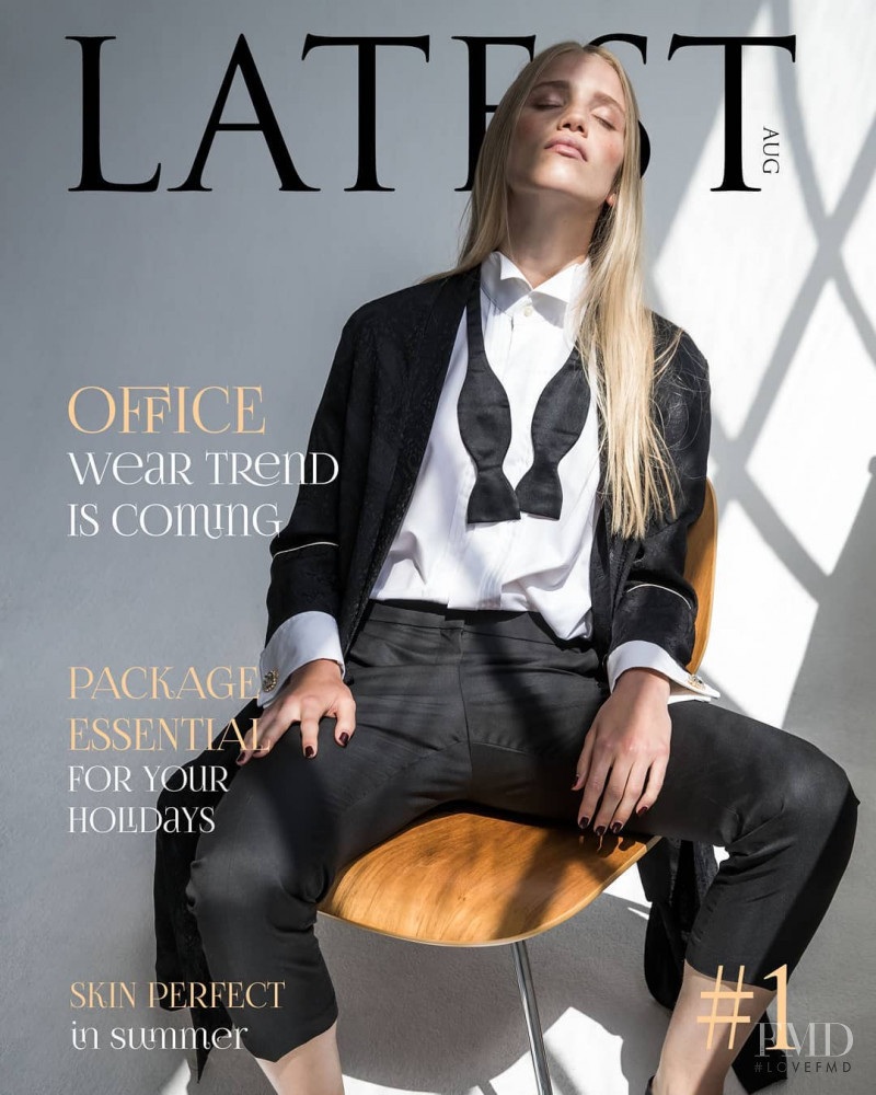 Rebecca Leigh Longendyke featured on the Latest cover from August 2017