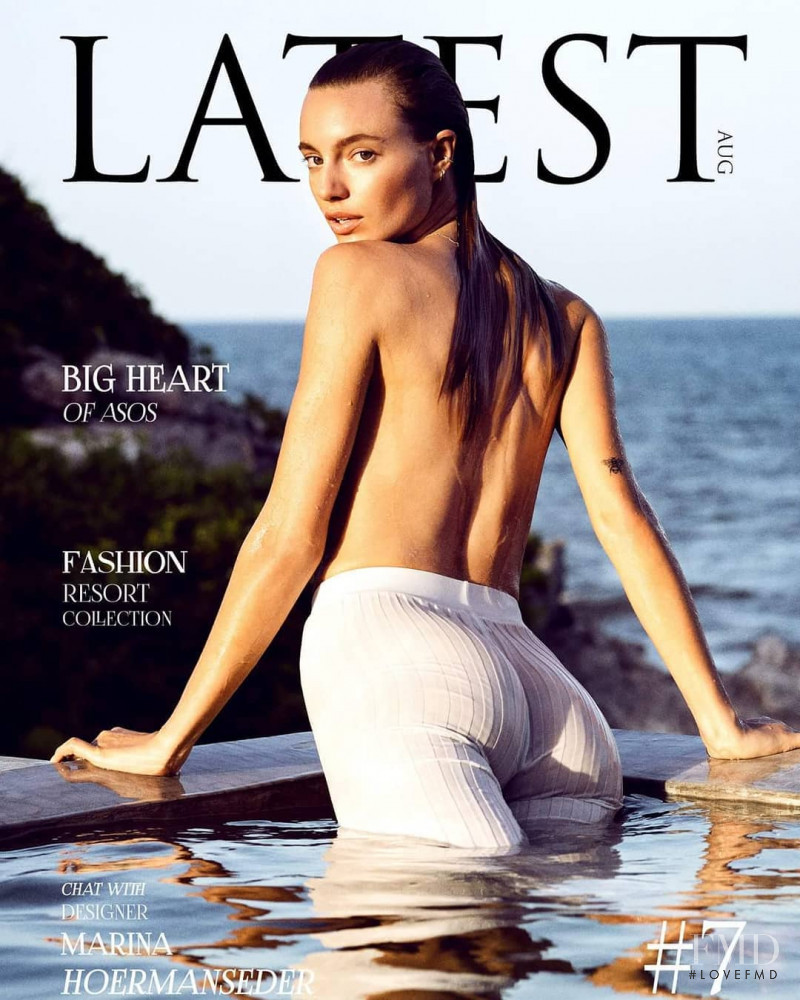 Maya Stepper featured on the Latest cover from August 2018