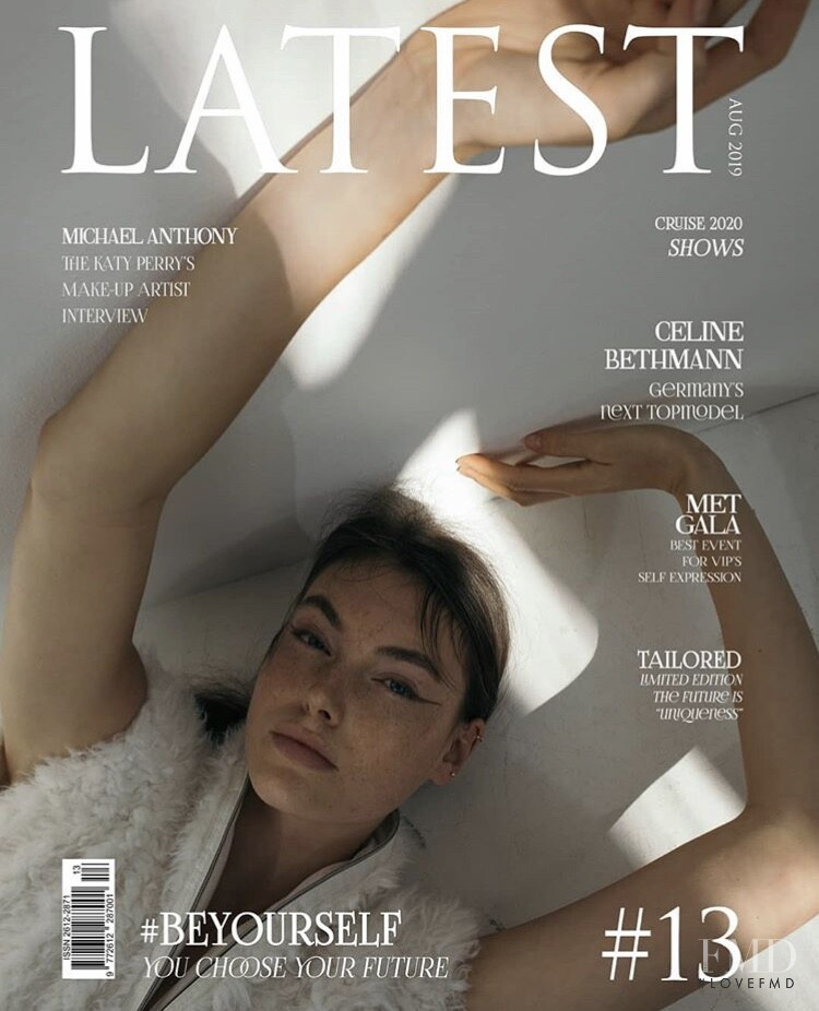 Celine Bethmann featured on the Latest cover from August 2019