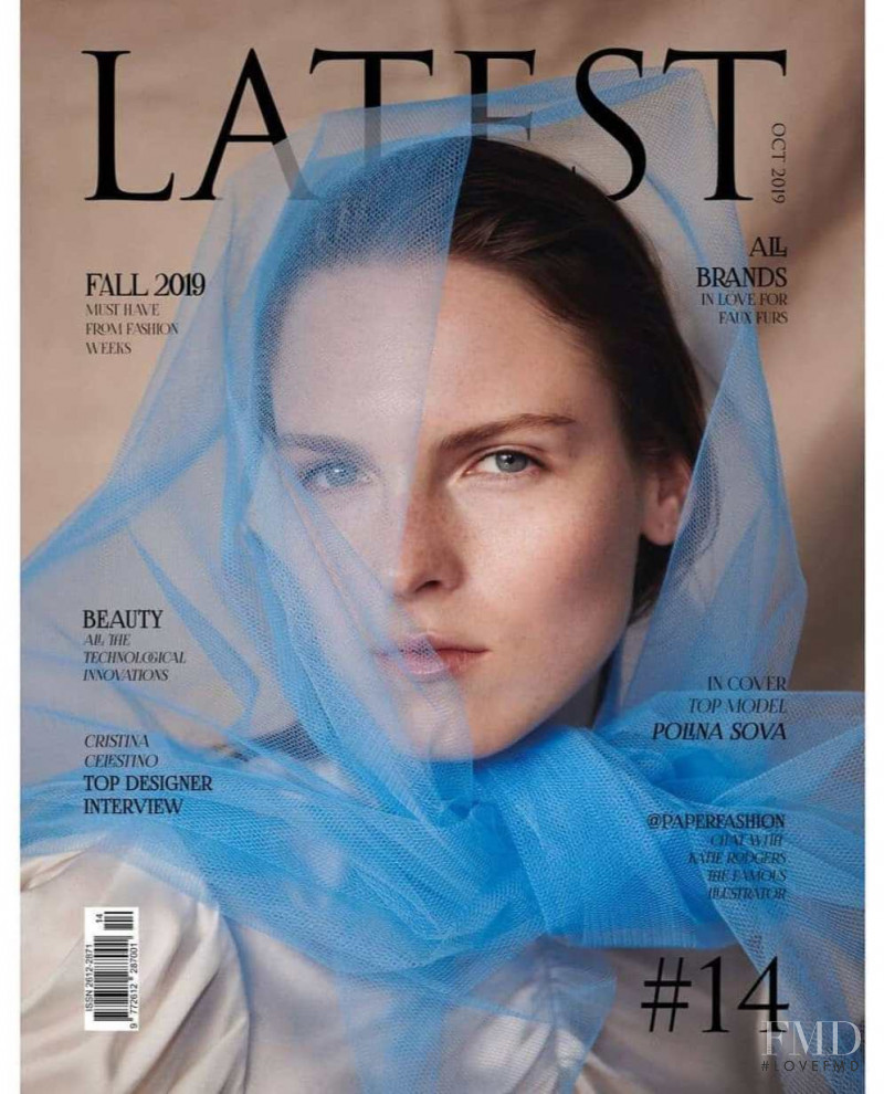 Polina Sova featured on the Latest cover from October 2019