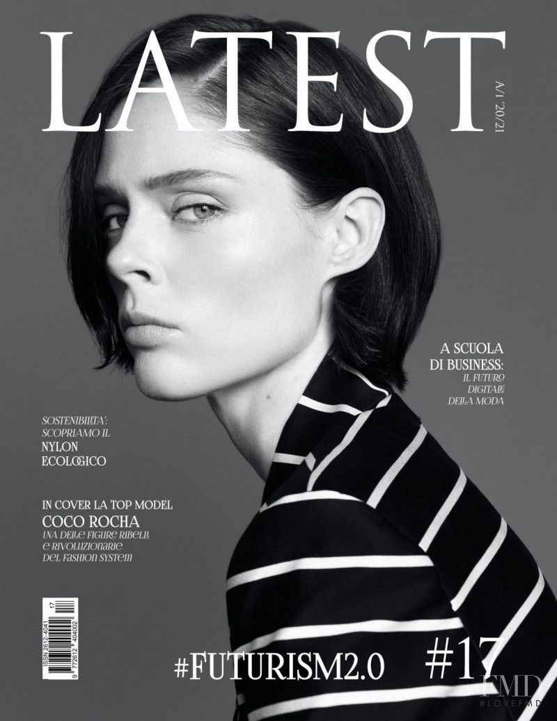 Coco Rocha featured on the Latest cover from October 2020