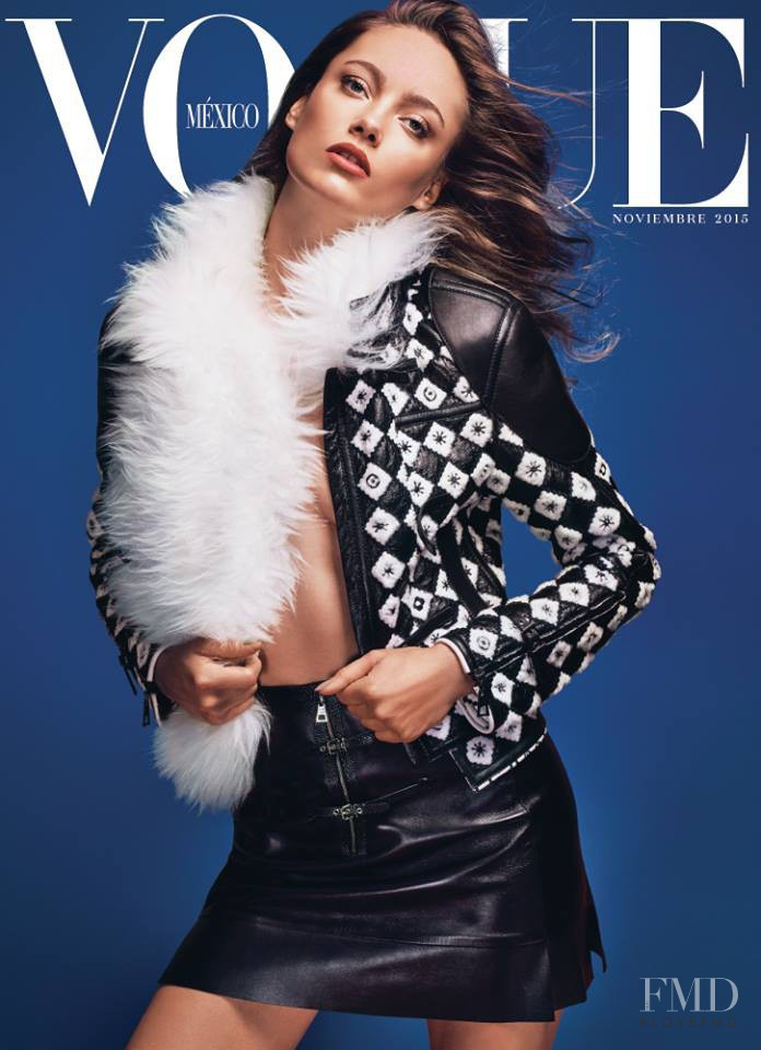 Karmen Pedaru featured on the Vogue Mexico cover from November 2015