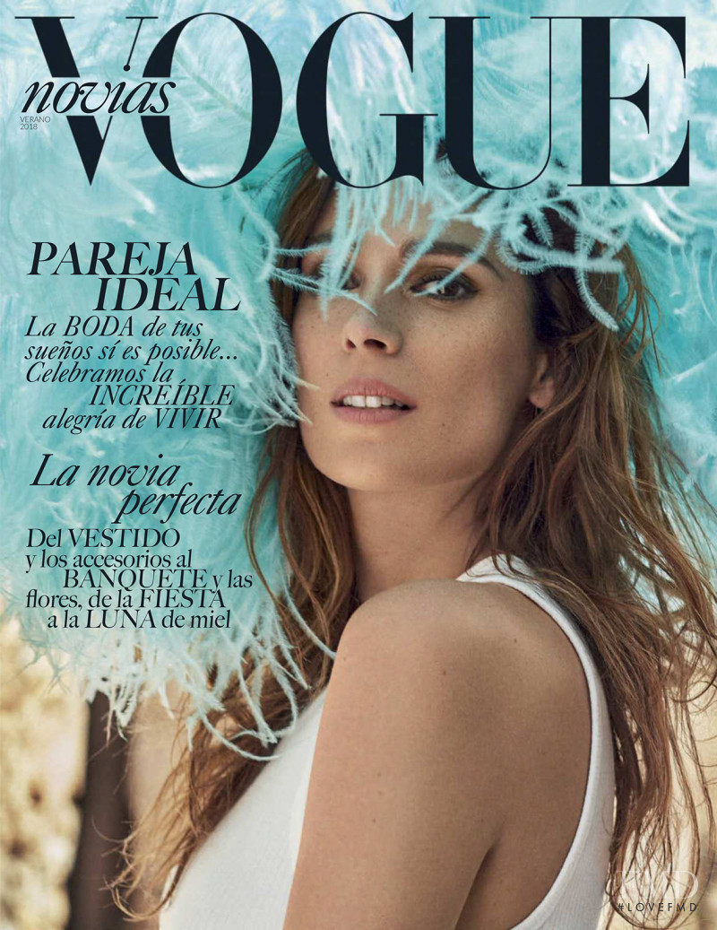 Mar Saura featured on the Vogue Mexico cover from June 2018
