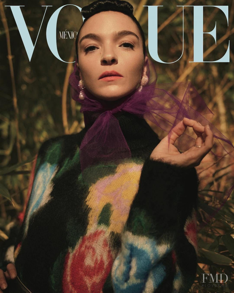 Mariacarla Boscono featured on the Vogue Mexico cover from May 2018