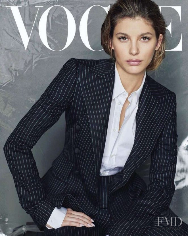 Camila Morrone featured on the Vogue Mexico cover from May 2018