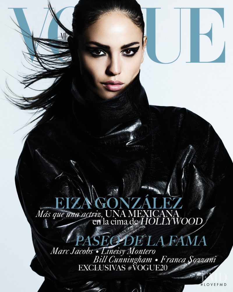 Eiza González featured on the Vogue Mexico cover from February 2019