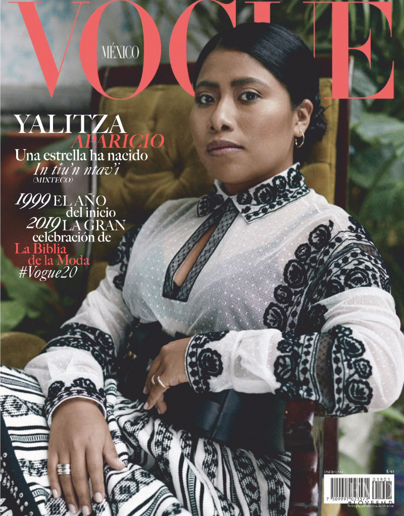 featured on the Vogue Mexico cover from January 2019
