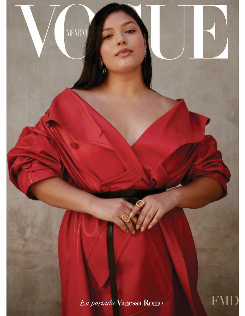featured on the Vogue Mexico cover from September 2020