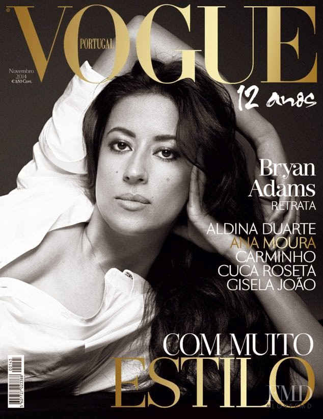 Ana Moura  featured on the Vogue Portugal cover from November 2014