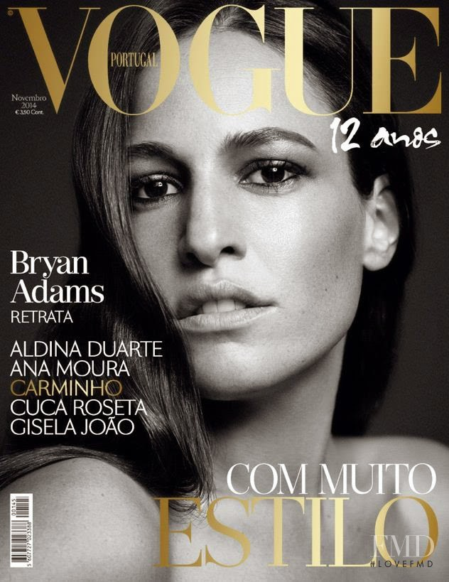 featured on the Vogue Portugal cover from November 2014