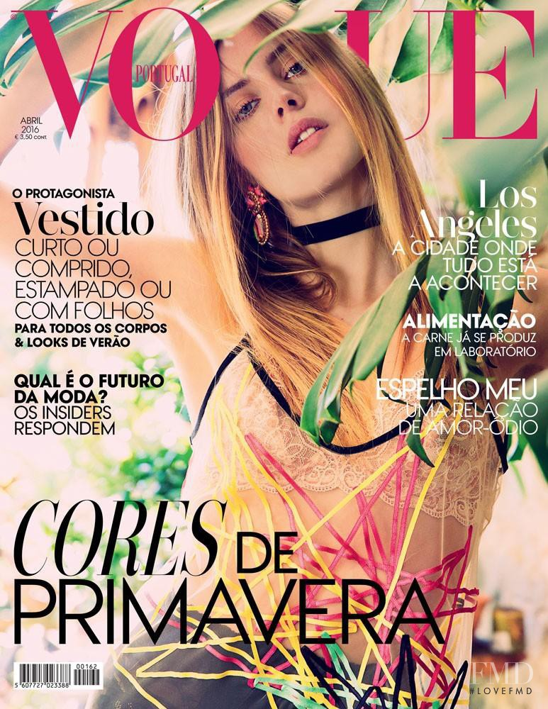 featured on the Vogue Portugal cover from April 2016