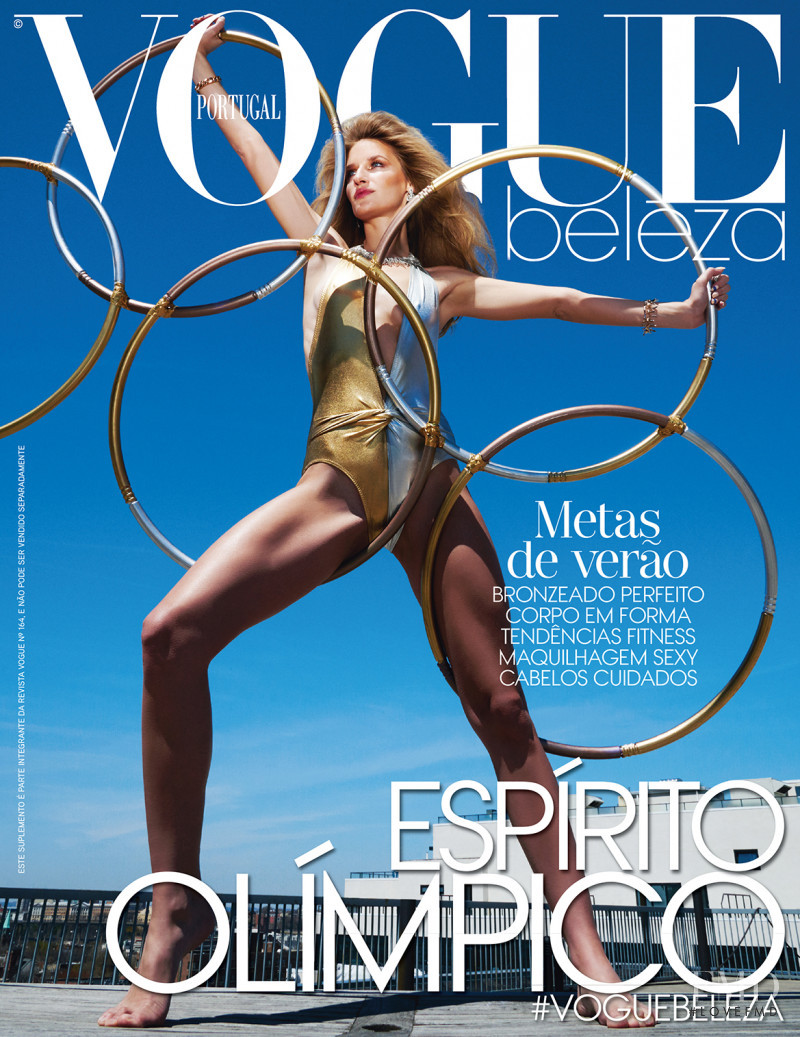 Linda Vojtova featured on the Vogue Portugal cover from June 2016