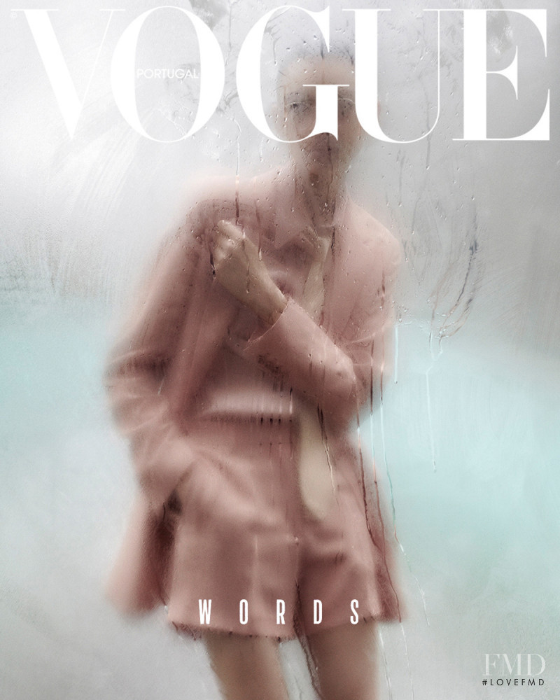 Jess Cole  featured on the Vogue Portugal cover from April 2018
