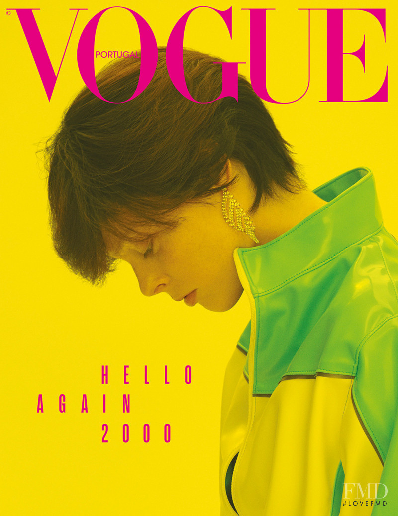 Coco Rocha featured on the Vogue Portugal cover from August 2018