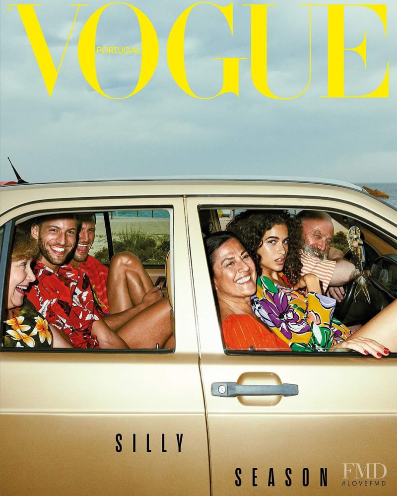 featured on the Vogue Portugal cover from July 2018