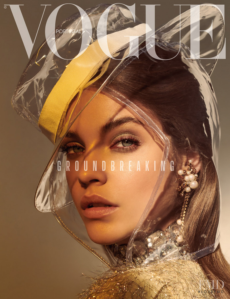 Barbara Palvin featured on the Vogue Portugal cover from March 2018