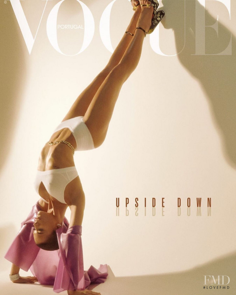 Bruna Marquezine featured on the Vogue Portugal cover from June 2019