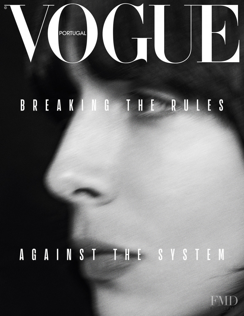 Jamie Bochert featured on the Vogue Portugal cover from March 2019