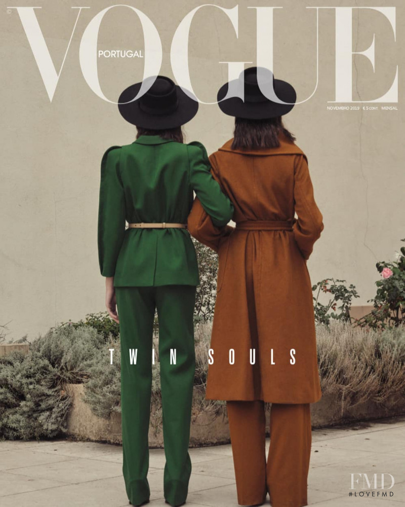 Alice and Pauline featured on the Vogue Portugal cover from November 2019