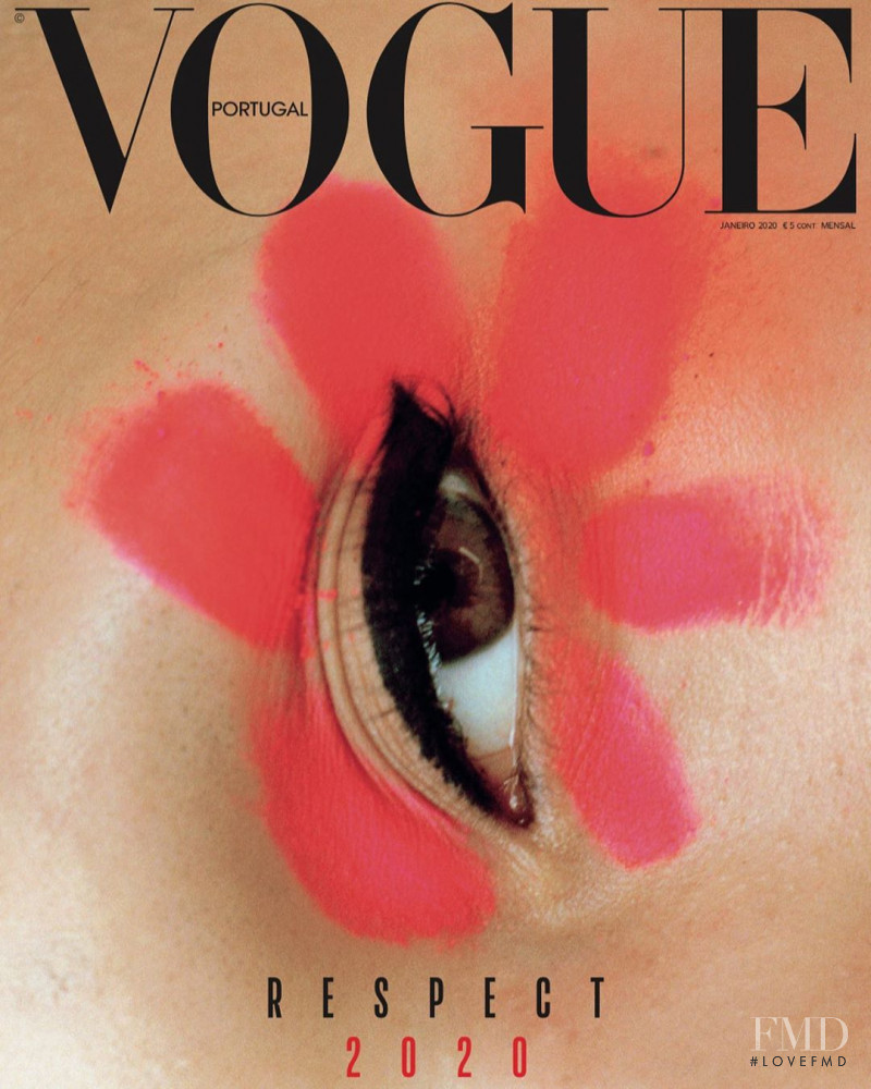 featured on the Vogue Portugal cover from January 2020