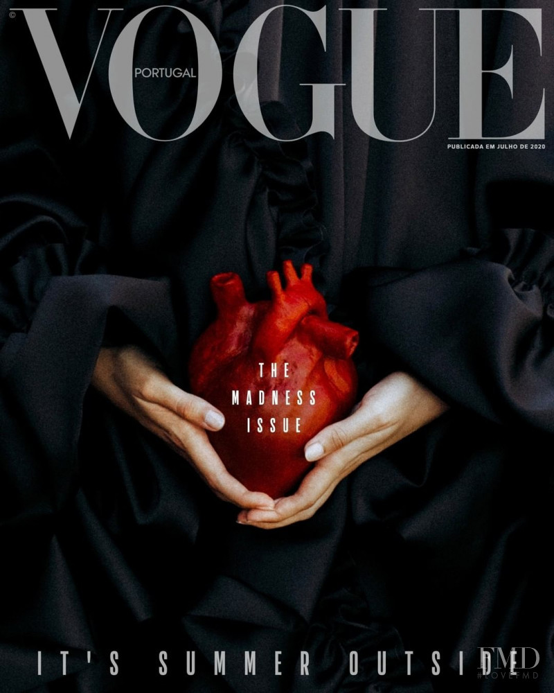 Doina featured on the Vogue Portugal cover from July 2020