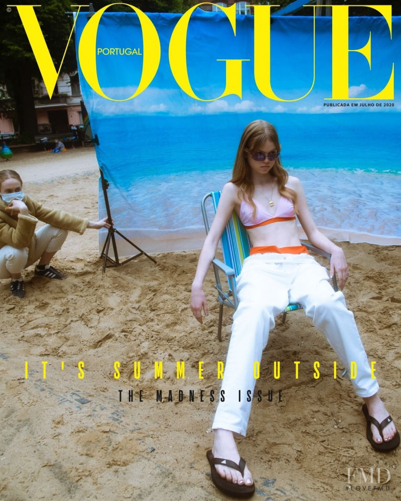 featured on the Vogue Portugal cover from July 2020
