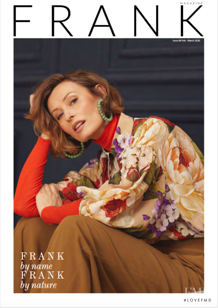 Marina Schlosberg featured on the Frank cover from February 2020