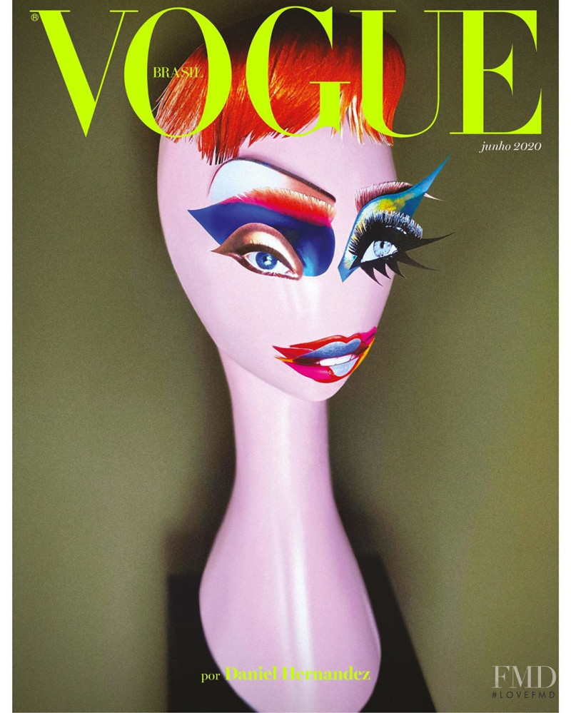featured on the Vogue Brazil cover from June 2020