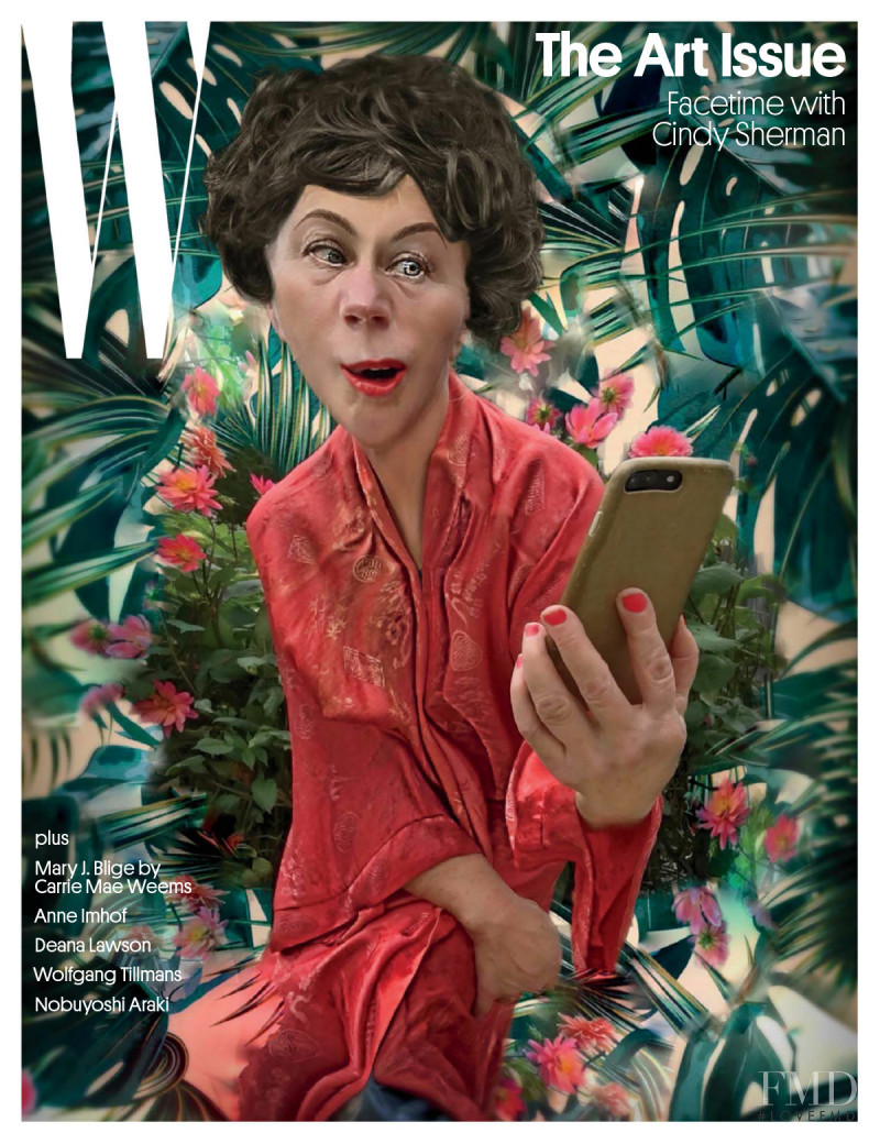 featured on the W cover from December 2017
