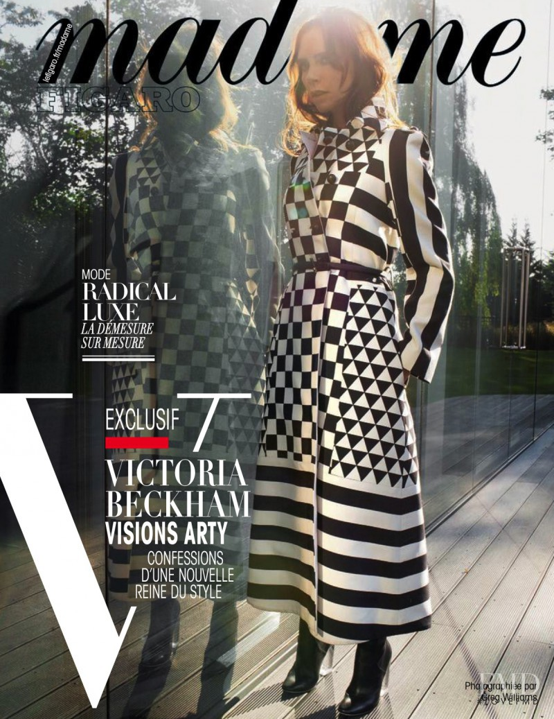 featured on the Madame Figaro France cover from November 2015