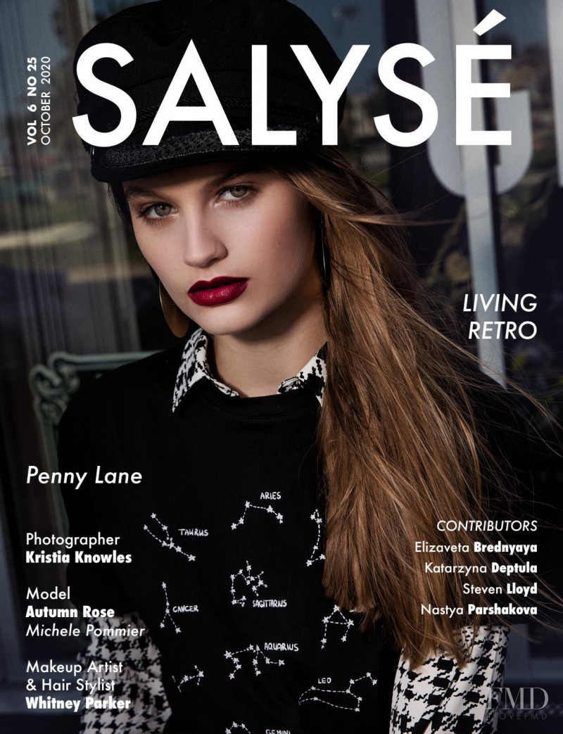 Autumn Rose featured on the Salyse cover from October 2020
