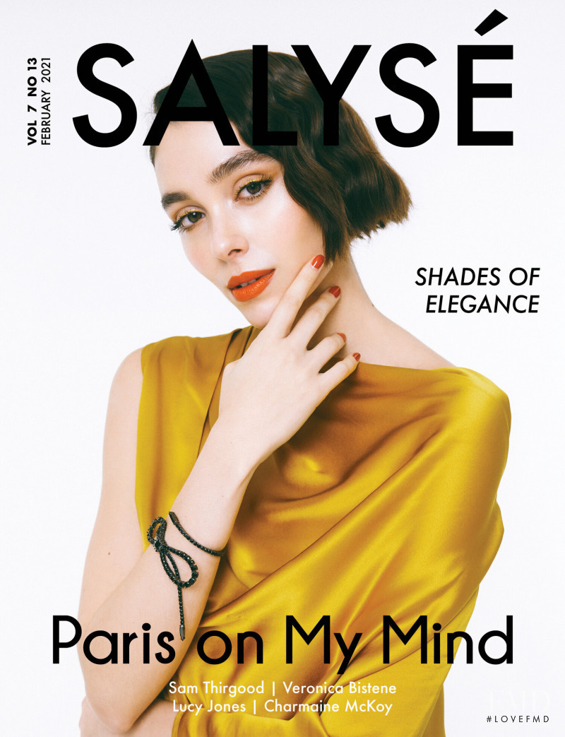 Veronica Bistene featured on the Salyse cover from February 2021