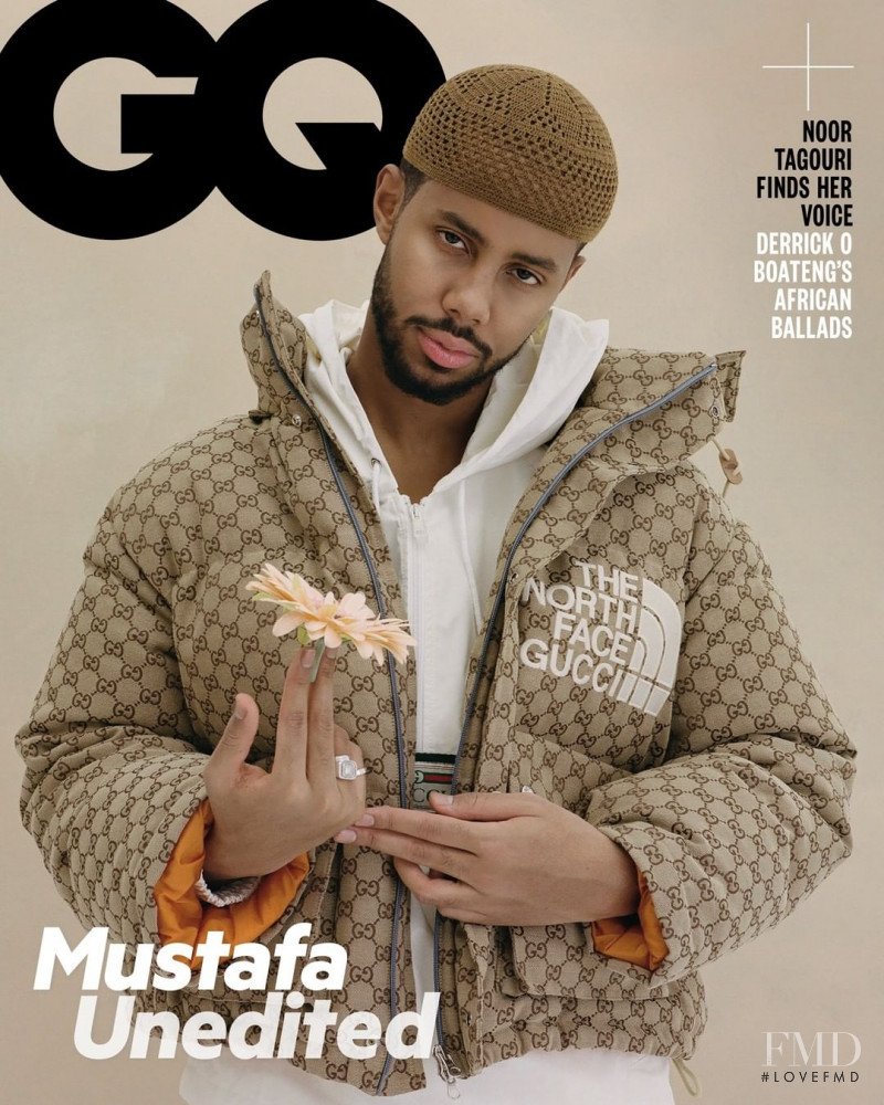 Mustafa The Poet featured on the GQ Middle East cover from February 2021