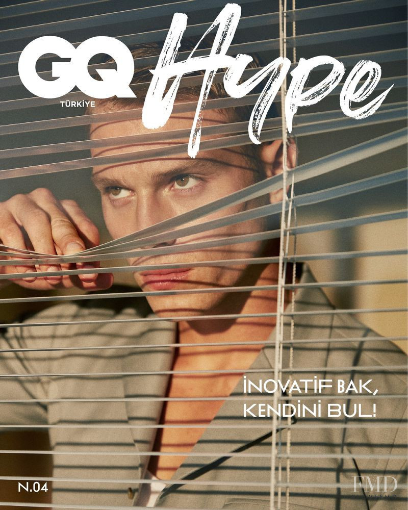 Matthew Noszka featured on the GQ Hype Turkey cover from November 2020