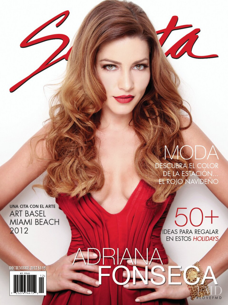Adriana Fonseca featured on the Selecta cover from December 2012