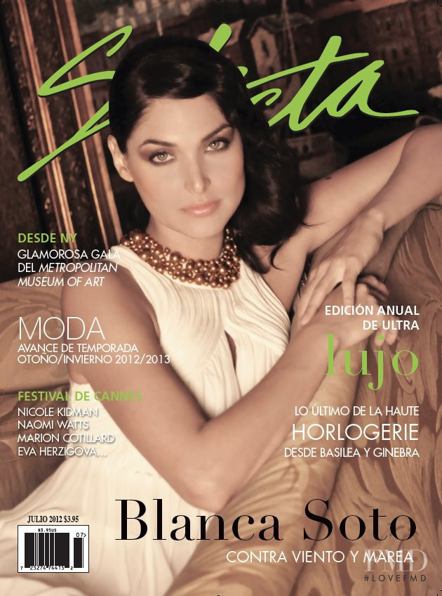 Blanca Soto featured on the Selecta cover from July 2012