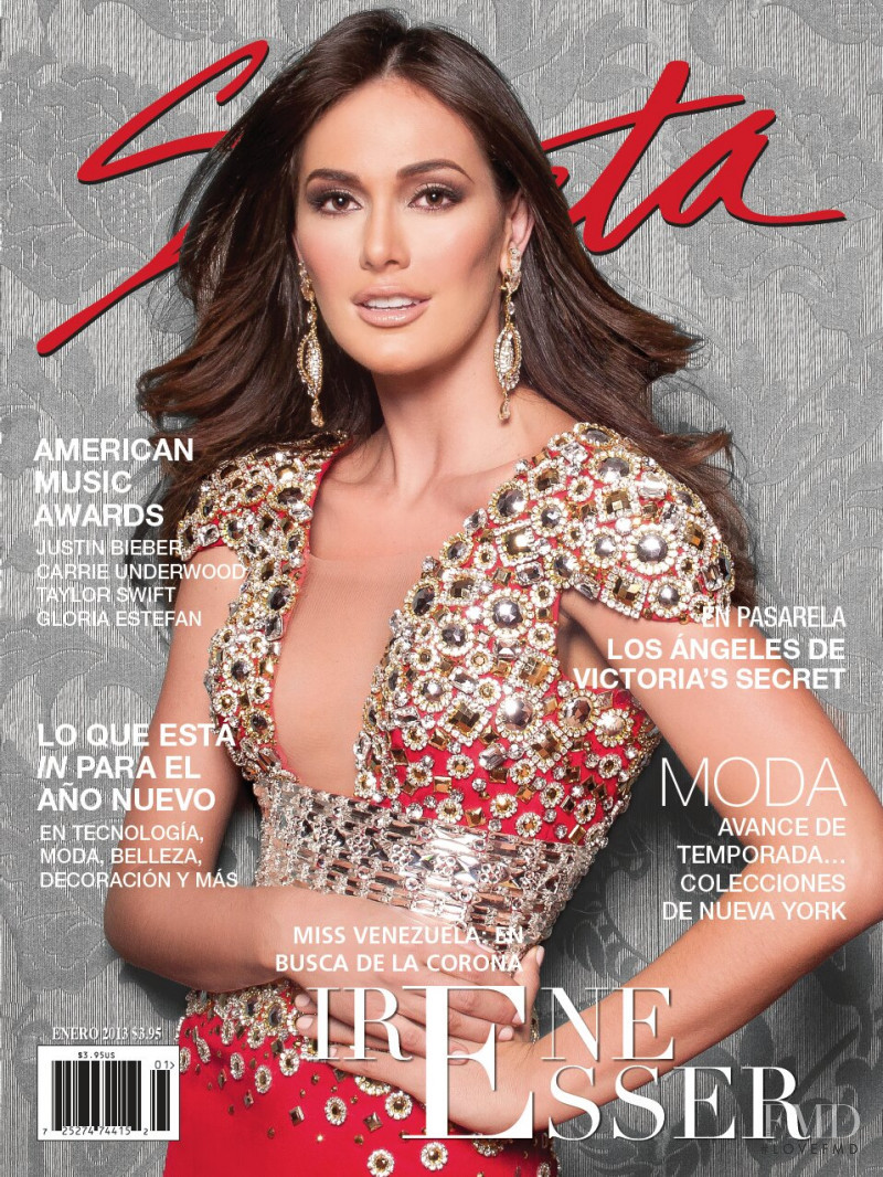 Irene Esser featured on the Selecta cover from January 2013
