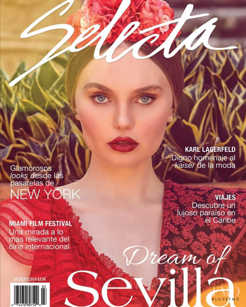 Elena Matei featured on the Selecta cover from March 2019