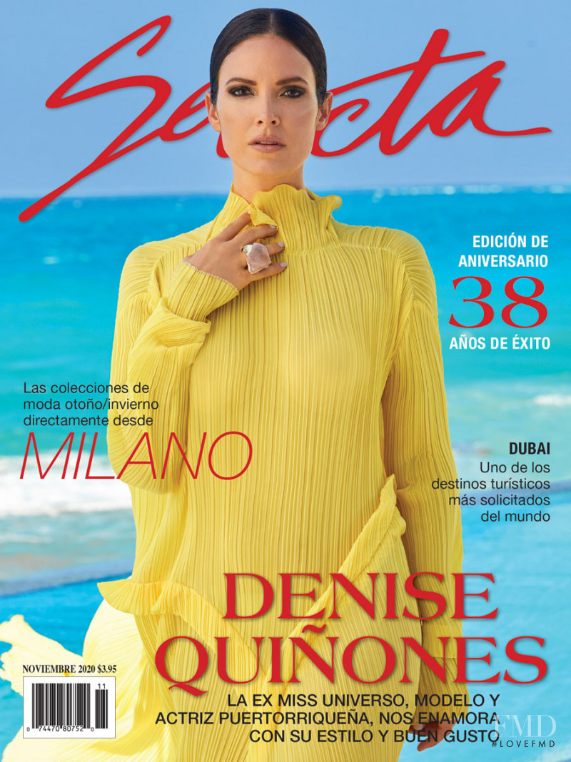 Denise Quiñones featured on the Selecta cover from November 2020