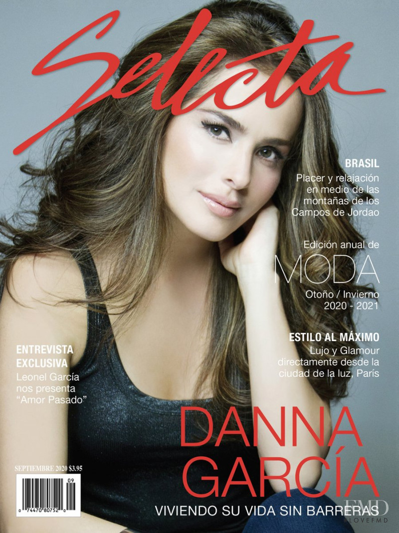 Danna Garcia featured on the Selecta cover from September 2020