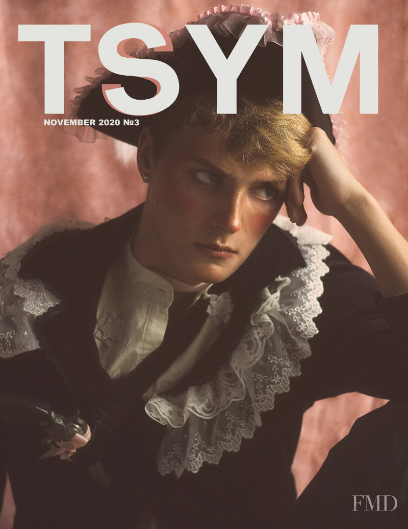 Zach Meister featured on the TSYM cover from November 2020