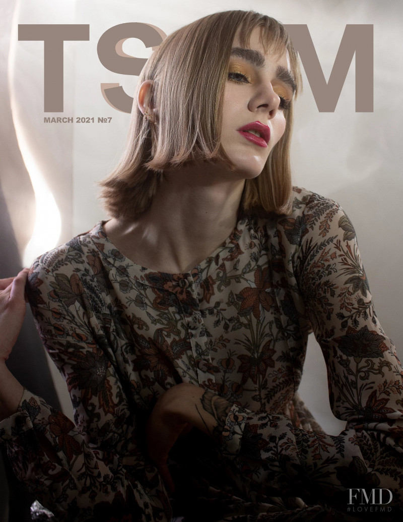 Inga Shpongolts featured on the TSYM cover from March 2021