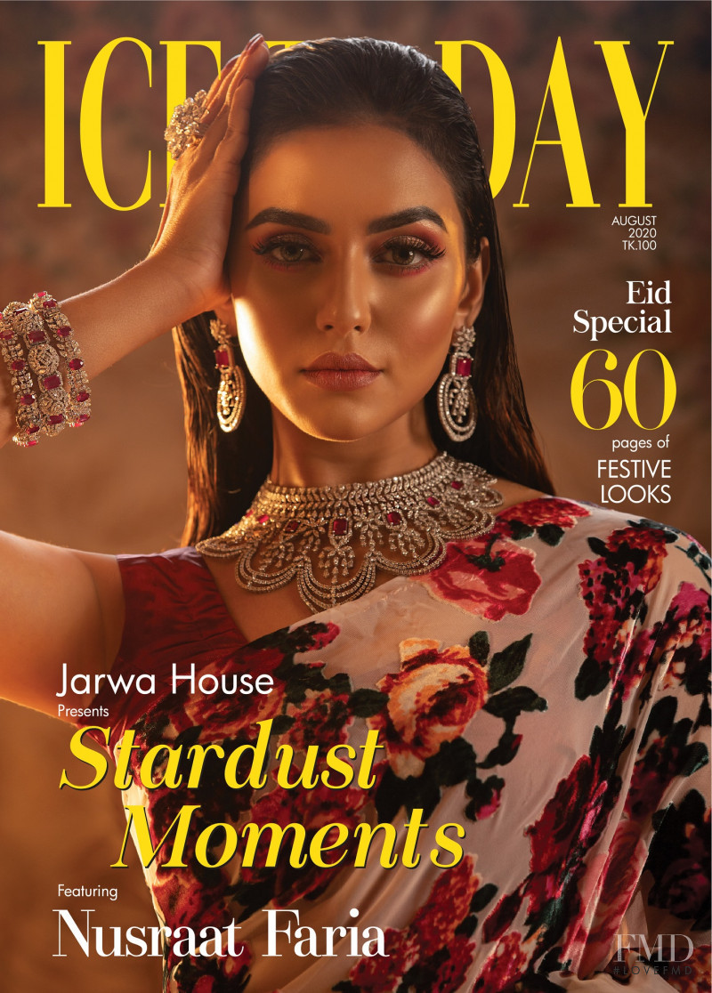 Nusraat Faria featured on the Ice Today cover from August 2020