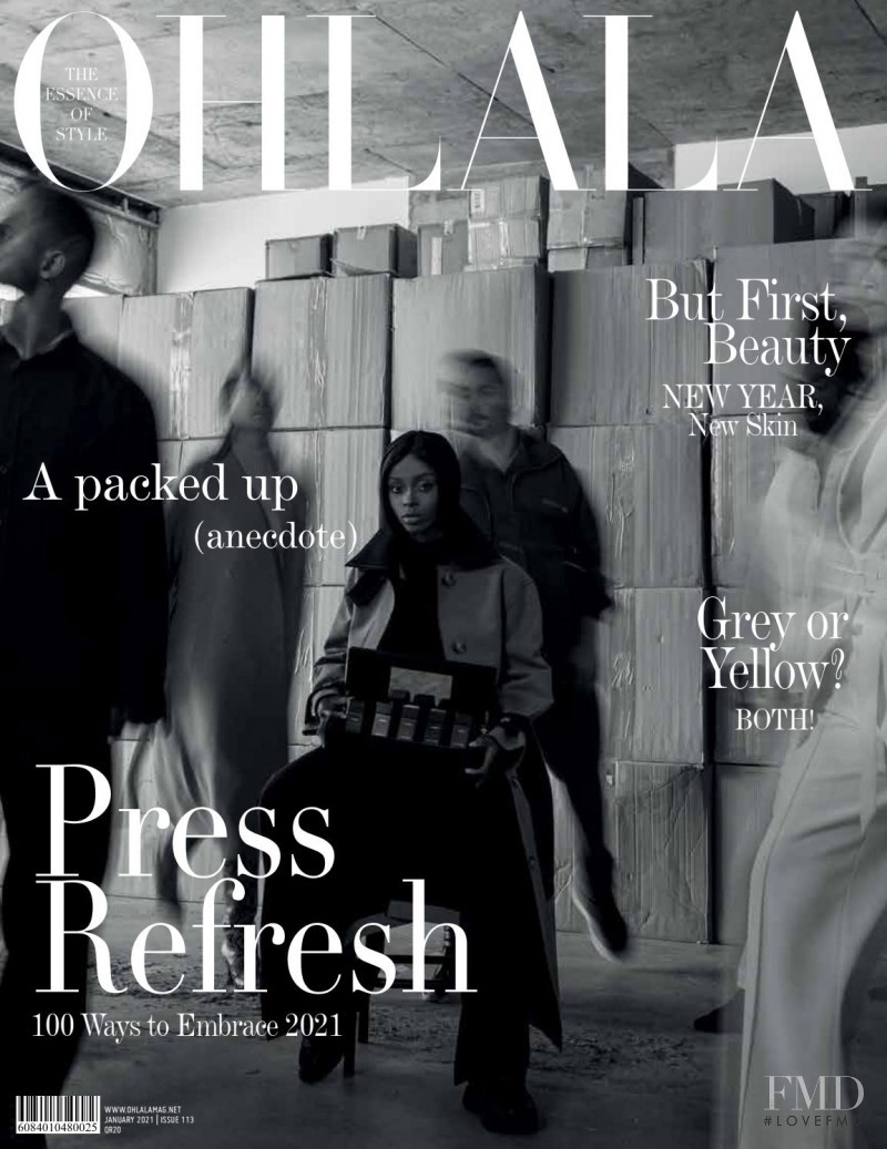 featured on the Ohlala Qatar cover from January 2021