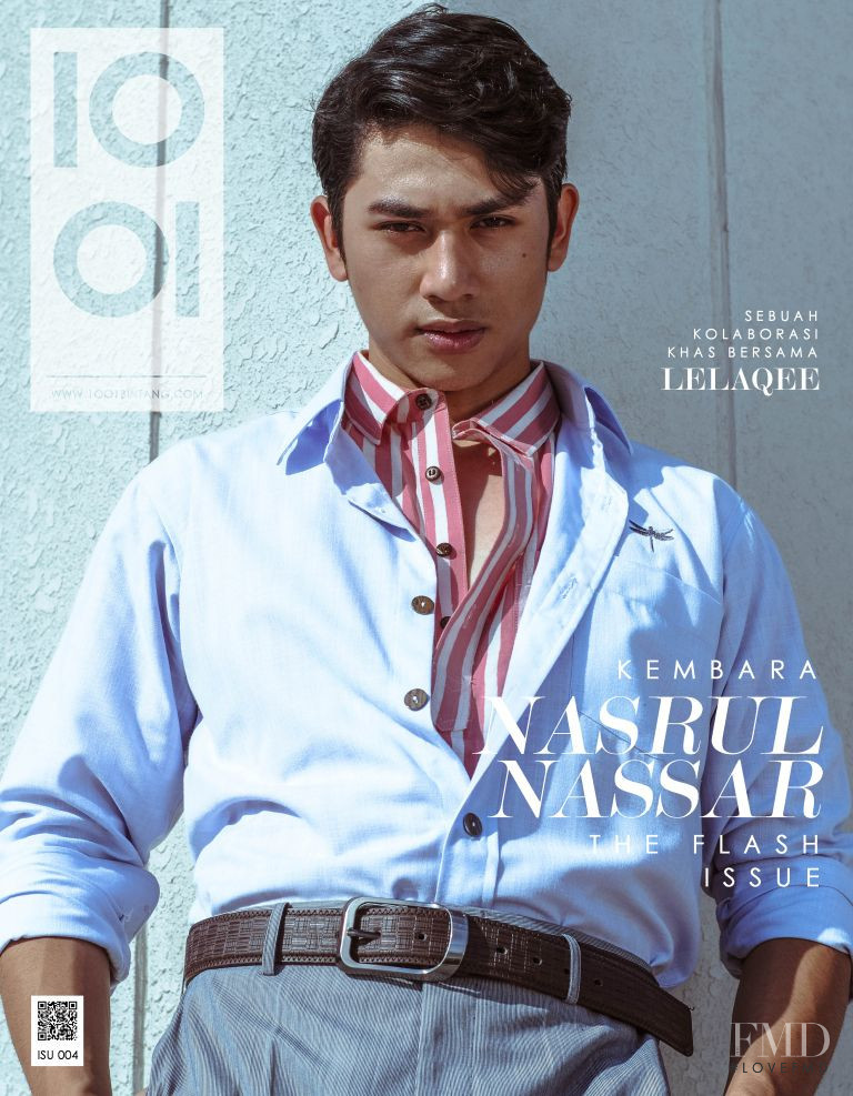 Nasrul Nassar featured on the 1001 Magazine cover from June 2018