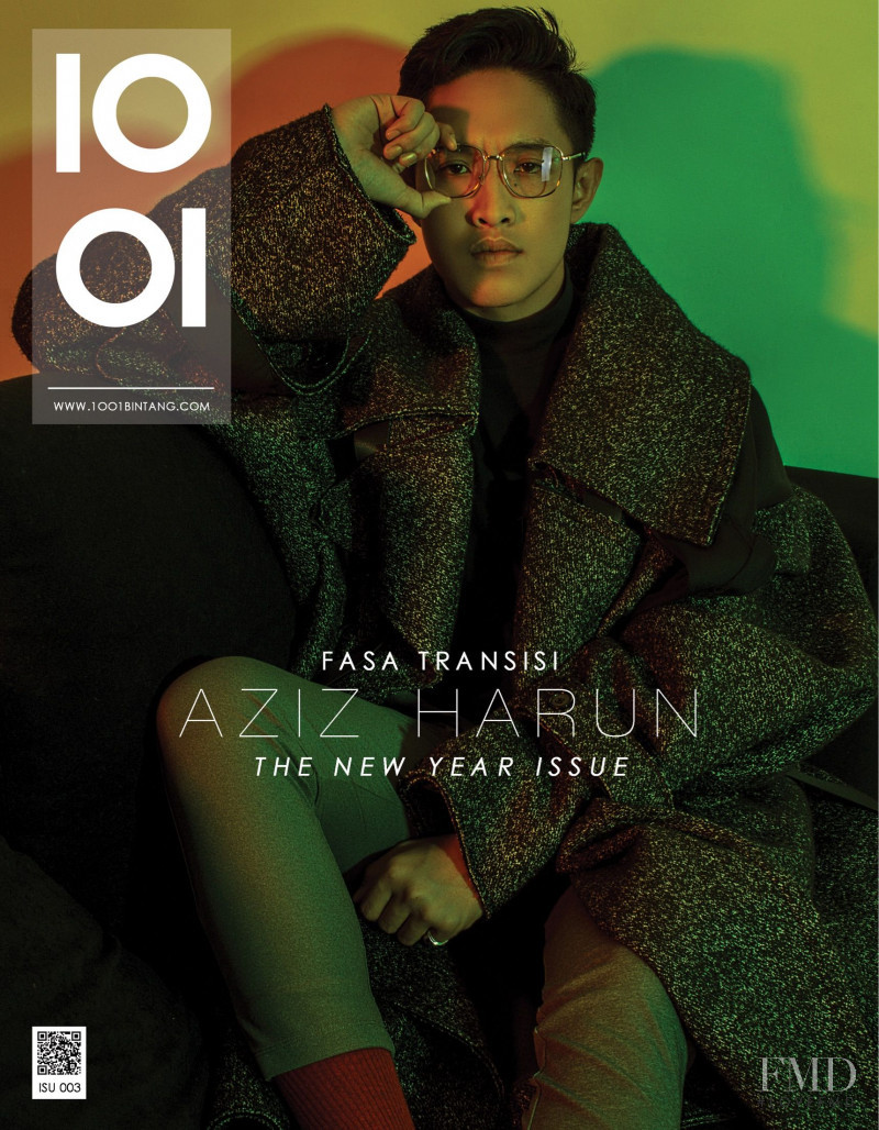 Aziz Harun featured on the 1001 Magazine cover from May 2018