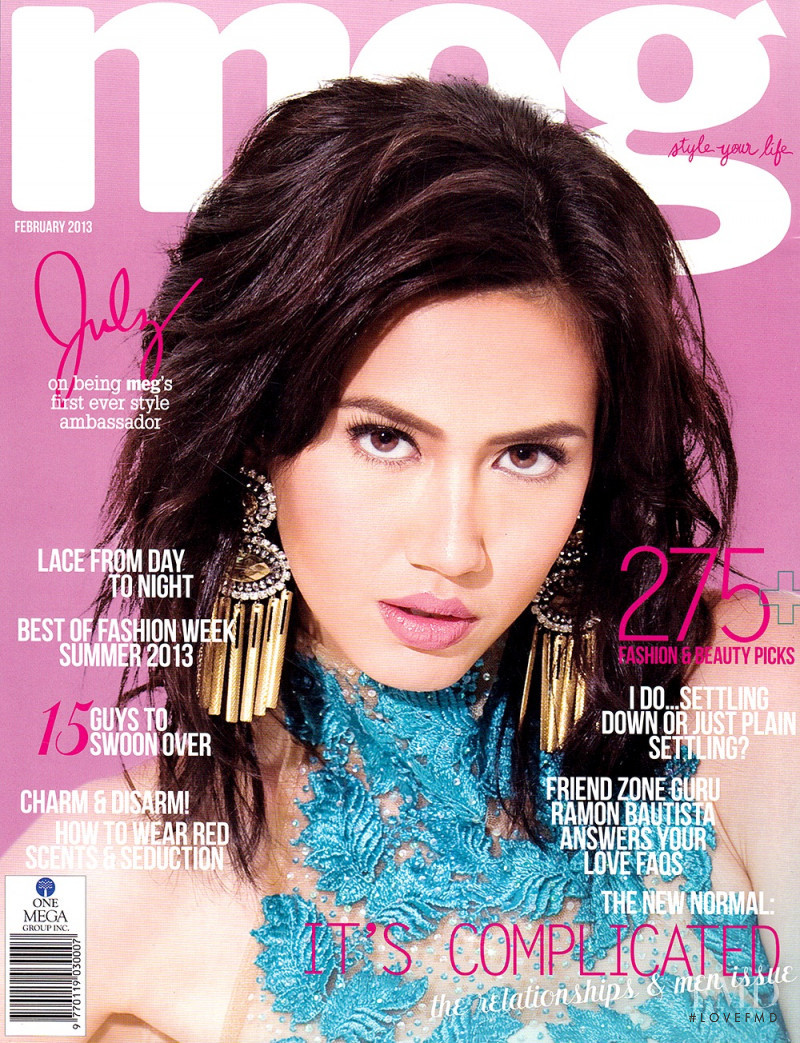 Julz Savard featured on the Meg cover from February 2013
