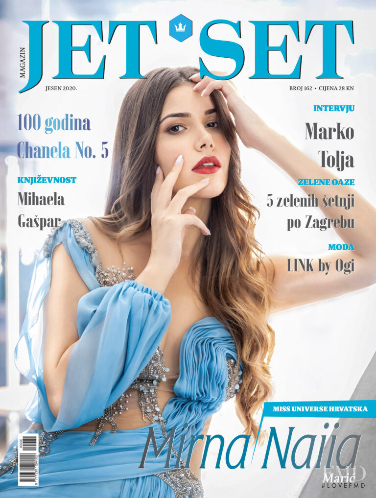 Mirna Naiia featured on the Jet Set cover from September 2020