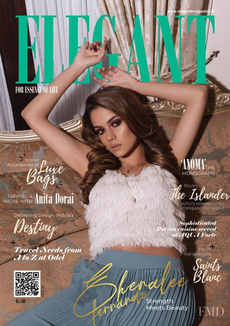 Shenalee Fernando featured on the Elegant Sri Lanka cover from October 2019