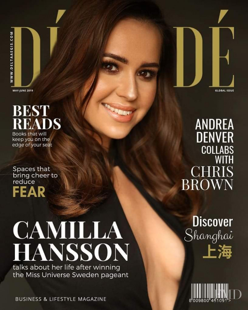 Camilla Hansson featured on the De Mode cover from May 2019